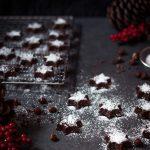 Schokoladensterne ohne Milch und Mehl - Weihnachtsplätzchen, vegan, glutenfrei, laktosefrei, ohne raffinierten Zucker - www.appleandginger.de