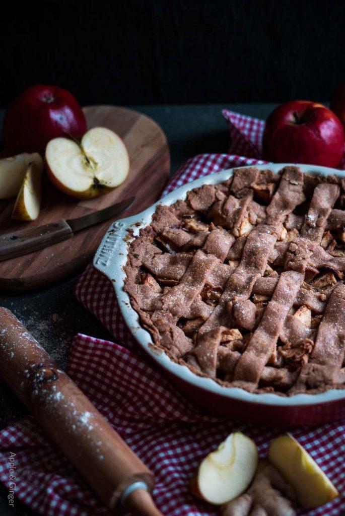 Ayurvedischer Apfelkuchen