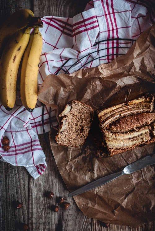 Bananenbrot Mit Karotten Und Haselnussen Apple And Ginger