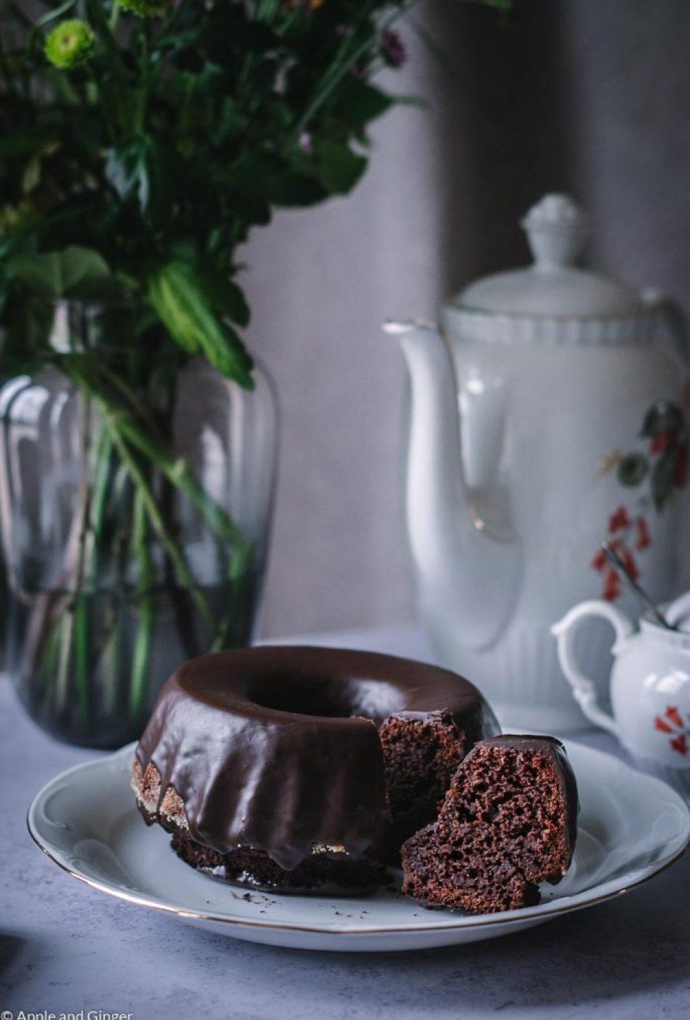 Espresso-Schokoladen-Gugelhupf