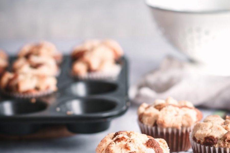 Gesunde Rhabarber-Streusel Muffins